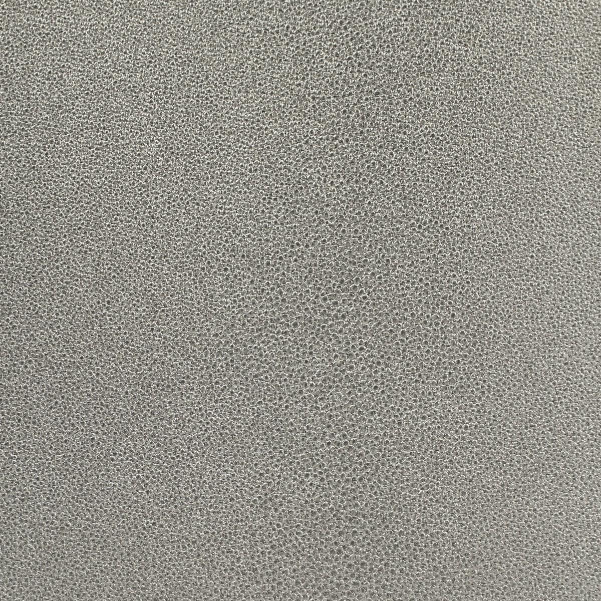 Vliestapete Gloockler Uni Struktur Silber Metallic
