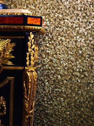 Vliestapete Glööckler Federn gold Metallic 52556 online kaufen