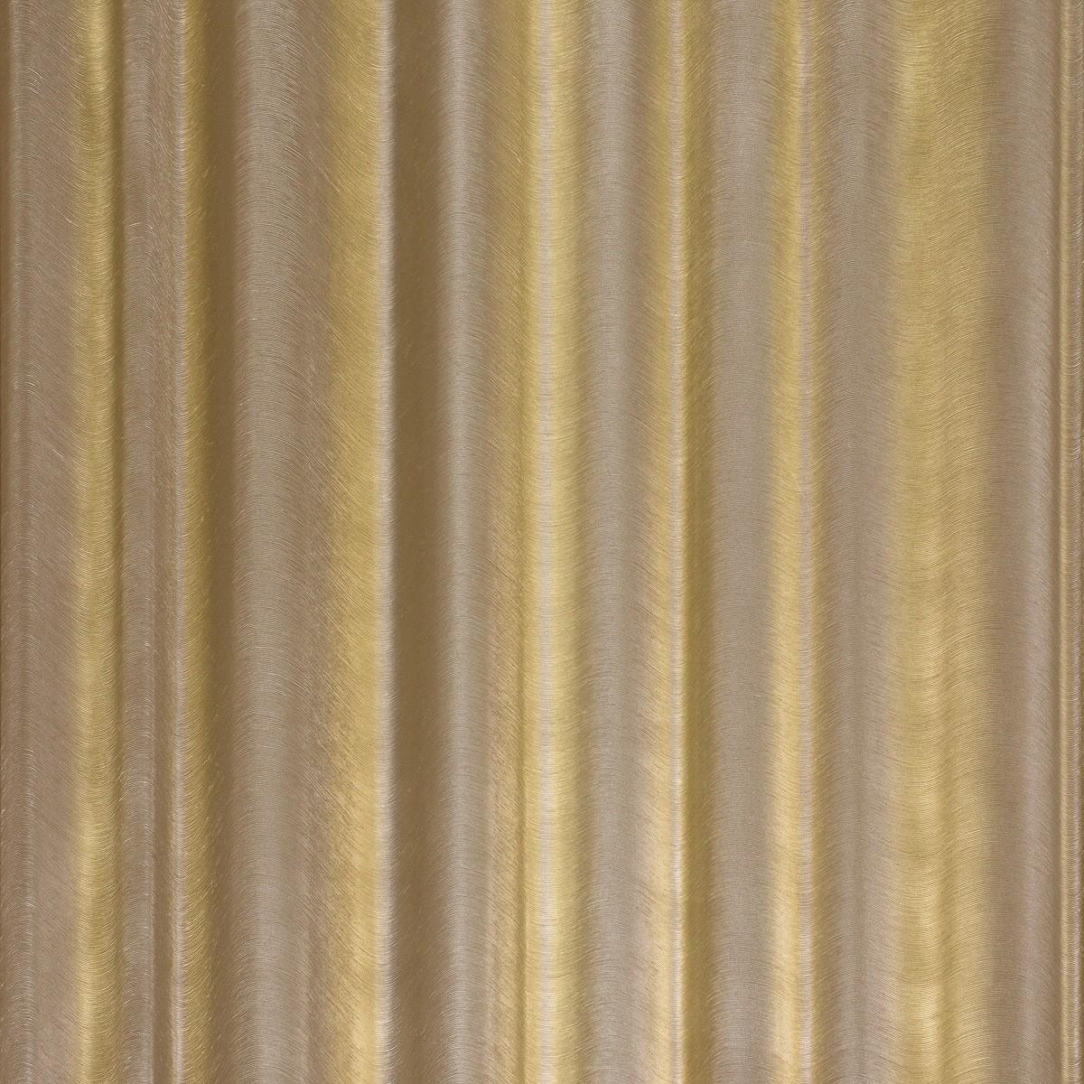 Vliestapete Glööckler Vorhang gold braun Metallic 52526