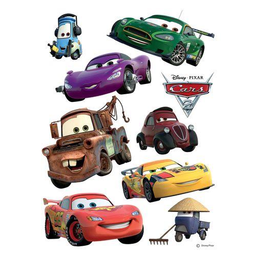 Wandtattoo Wandsticker Wanddeko Disney Car's Lightning
