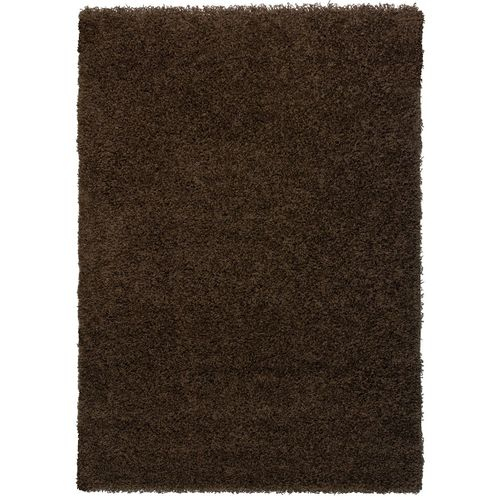 Carpet brown uni Shaggy Fancy different sizes plain online kaufen