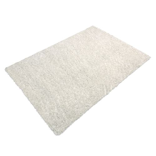 Carpet white uni Shaggy Fancy in diff. sizes online kaufen