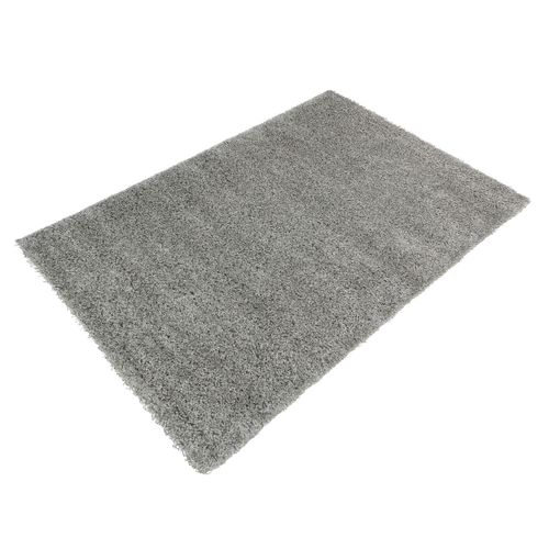 Carpet grey plain Shaggy Fancy in diff. sizes online kaufen