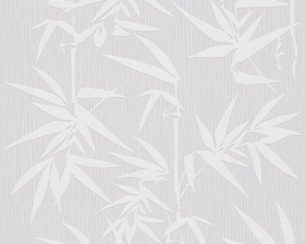Non-woven wallpaper Jette Joop 2 wallpaper 2936-33 293633 wallpaper flowers bamboo grey silver