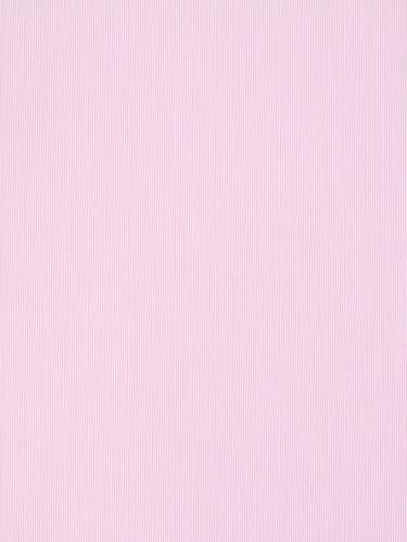 Kindertapete Rasch Textil Streifen weiß rosa 137016