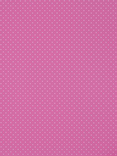 Rasch Textil non-woven wallpaper Giggle kids wallpaper 137311 Dots pink