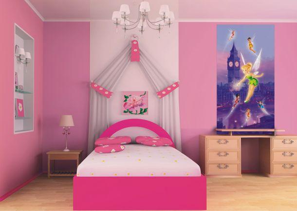 Fototapete Tür Disney Tinkerbell Feen Tinker Bell 90x202cm online kaufen
