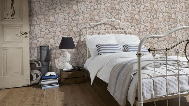 Wallpaper natural stone bricks AS Creation 9273-23 online kaufen