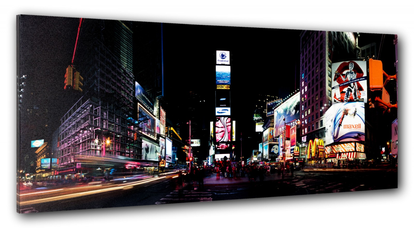 Wandbild fototdruck new york times square 40x100 cm - Wandbild new york ...