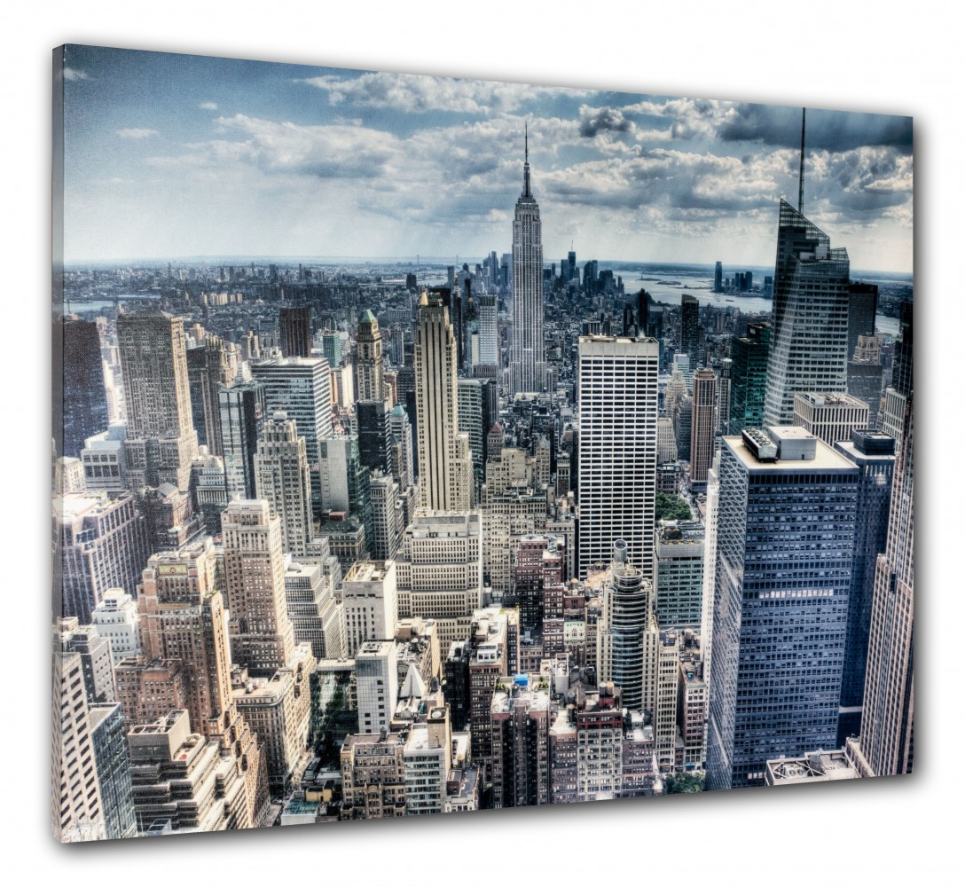 Wandbild fotodruck new york 3d empire state jmy 121318 - Wandbild new york ...