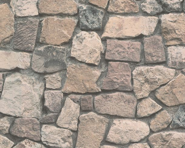 Wallpaper natural stone bricks beige AS Creation 8595-32