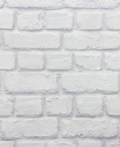 Teen's Wallpaper Stone Wall Brick grey Rasch 226713