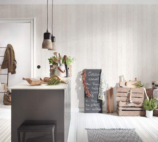 Wallpaper wooden style board white AS Creation 8550-46 online kaufen