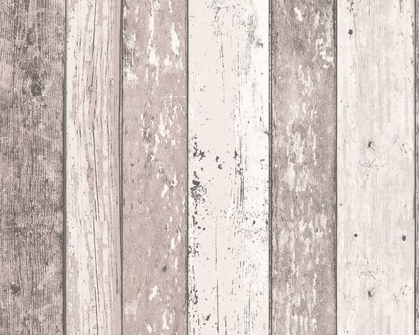 Wallpaper wooden style board brown AS Creation 8550-53 online kaufen