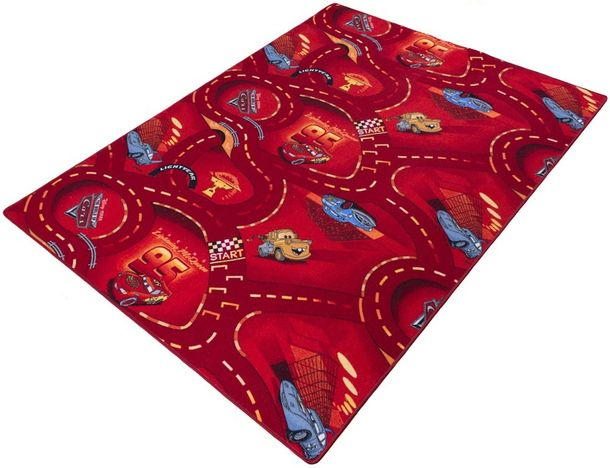 Kids carpet / rug Disney CARS carpet / rug street play carpet / rug 3 colors 3 different sizes online kaufen