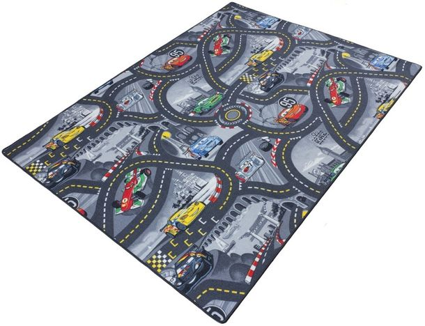 Kids carpet / rug Disney CARS carpet / rug street play carpet / rug 3 colors online kaufen