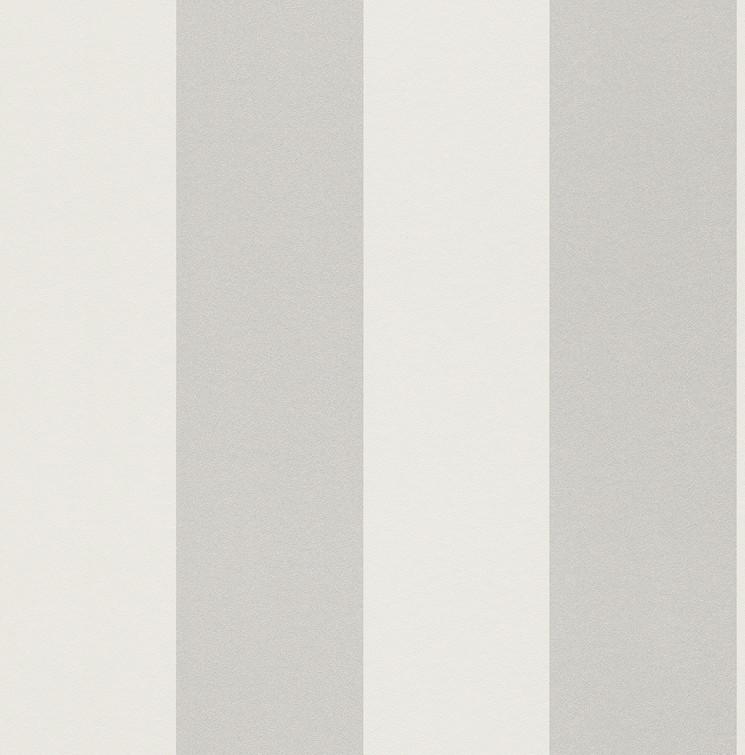 tapete streifen rasch just me wei silber 286632. Black Bedroom Furniture Sets. Home Design Ideas