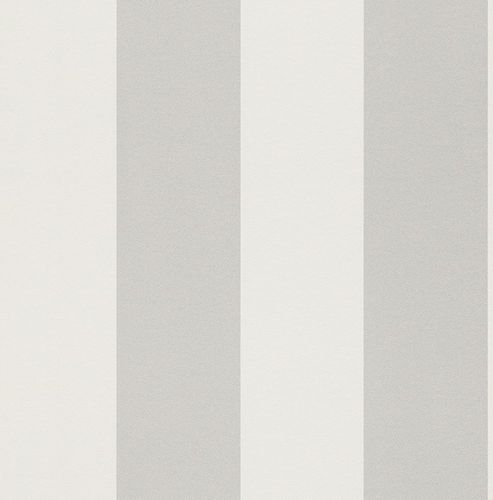 Wallpaper Stripes Rasch Just me! white silver 286632