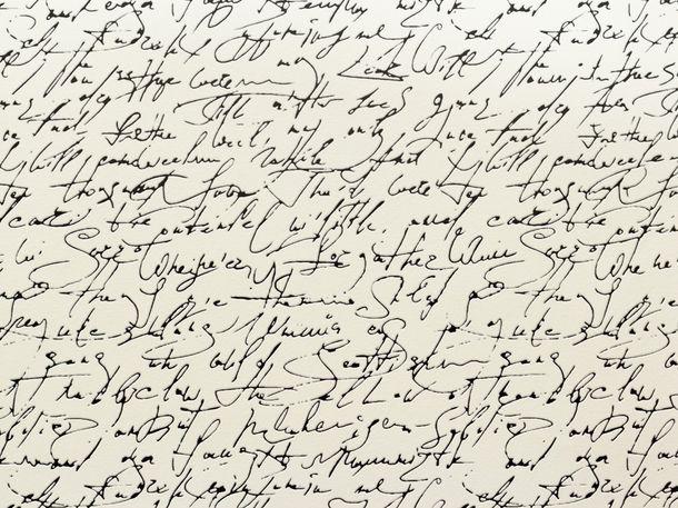A.S. Création SCHÖNER WOHNEN 5 non-woven wallpaper 9448-25 944825 scripture black white online kaufen