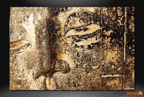Original oil painting canvas buddha picture 150x100 cm / 59.1 '' x 39.37 '' mural buddha 3D optic online kaufen
