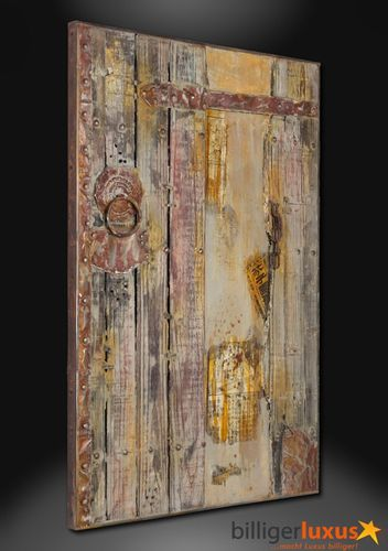 Exclusive artwork oil painting window gate Asia 120x80 cm / 47.24 '' x 31.5 '' Asia gate online kaufen