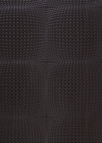 Graham & Brown Odyssey non-woven wallpaper 30-167 squares 3D black