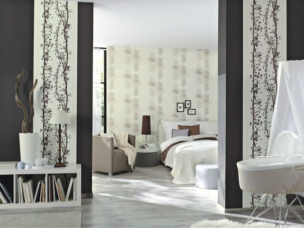 Rasch non-woven wallpaper Easy Passion nature cream greybrown 731583 online kaufen