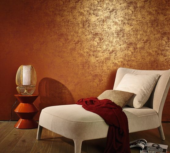 Marburg non-woven wallpaper 53126 plain pattern gold online kaufen