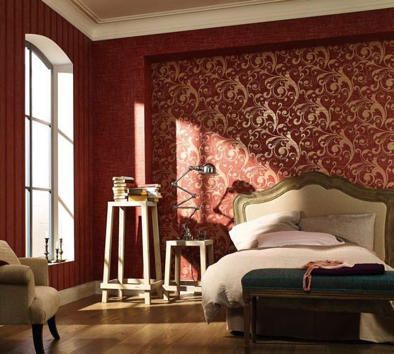 Tapete Barock rot gold Marburg La Veneziana 53155  online kaufen
