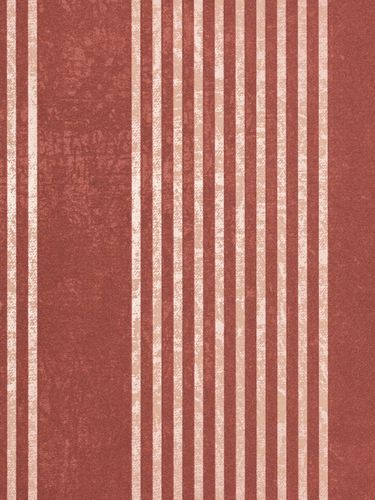 Marburg non-woven wallpaper 53106 stripes red beige