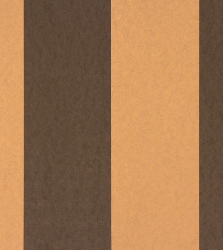 Wallpaper Rasch Textil Strictly Stripes non-woven wallpaper 221472 stripes brown gold online kaufen