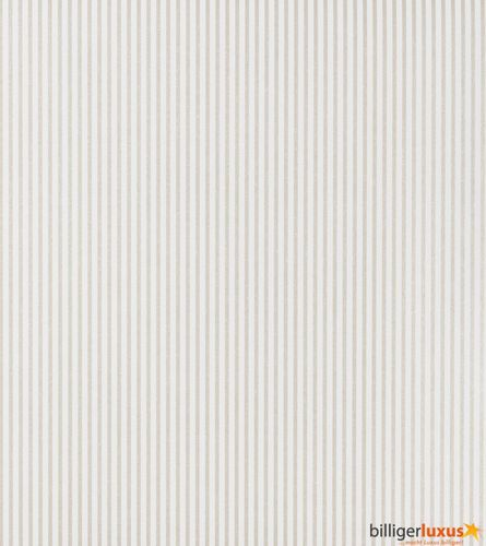 Wallpaper Rasch Textil Strictly Stripes non-woven wallpaper 294315 stripes white cream online kaufen