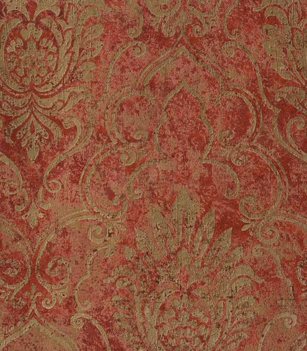 Wallpaper A.S. Création Bohemian non-woven wallpaper 9453-34 945334 baroque red brown