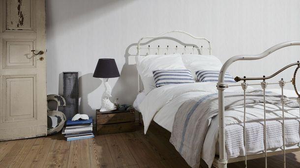 Tapete 5th OK non-woven wallpaper stripes cream white 93529-1 935291 A.S.  online kaufen