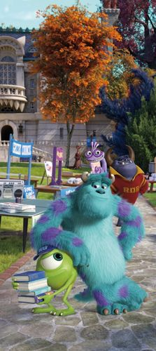 Fototapete Tapete Disney Monster AG Sully Mike Foto 90 x 202 cm online kaufen