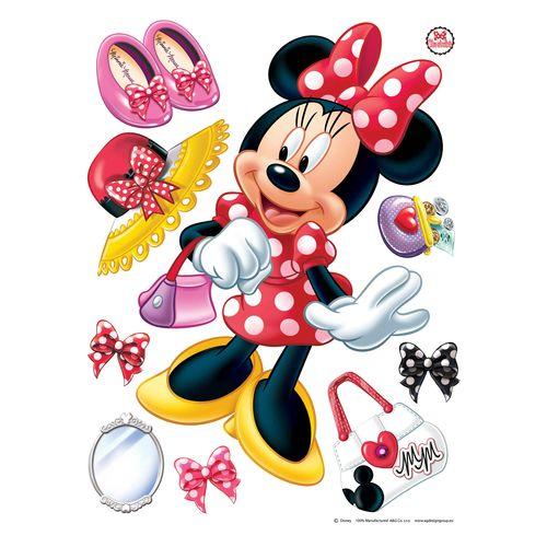 Wandsticker Wandtattoo Disney Minnie Mouse 65 x 85 cm