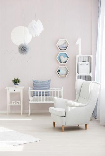 Kindertapete Streifen Rillen Struktur weiß grau 9087-35 online kaufen