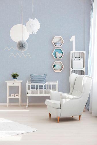 Kids Wallpaper Plain Structured light blue 7587-81 online kaufen