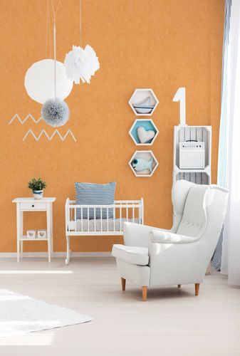 Kids Wallpaper Rust Look orange 7588-28 online kaufen