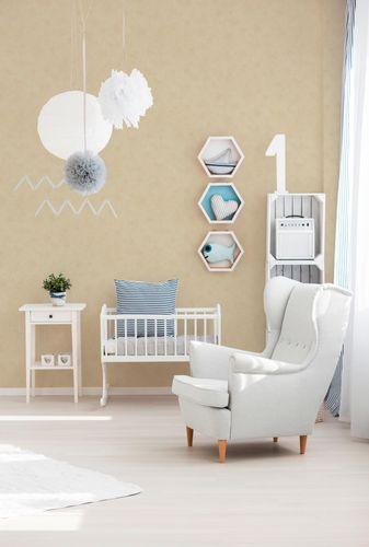 Kids Wallpaper Plain Structured beige 6888-11 online kaufen