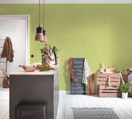 Wallpaper Plain Structure apple green 6888-66 online kaufen