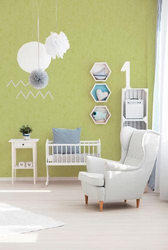 Wallpaper Plain Structure apple green 6888-66 online kaufen