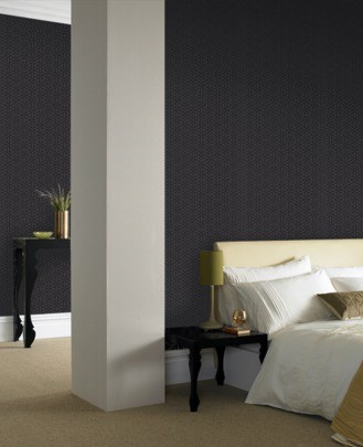 Casa Nova Wallpaper Graham & Brown non-woven wallpaper 20-440 20440 grafic modern black online kaufen