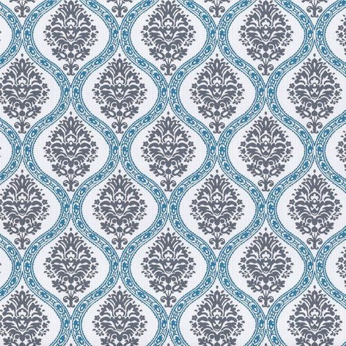 Rasch Textil VINTAGE DIARY wallpaper 255231 ornaments grey blue