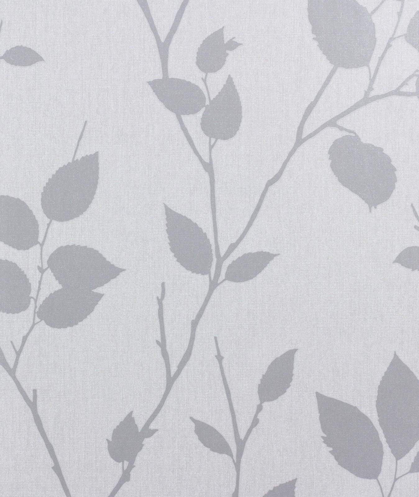 Graham Brown Superfresco Non Woven Wallpaper Element 31 872 31872 Leaves Grey 001