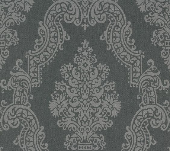 Vliestapete Barock grau Elegance AS Creation 93677-2