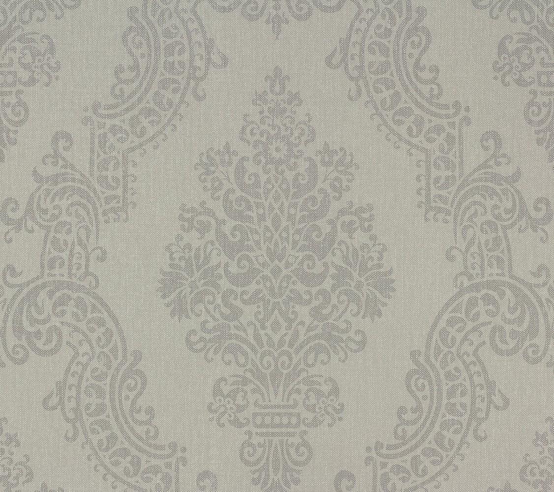 2,79€//1qm Vliestapete Barock grau Elegance AS Creation 93677-2