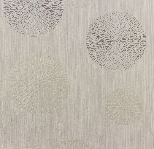 Wallpaper grey beige flower Spot AS Creation 93792-1