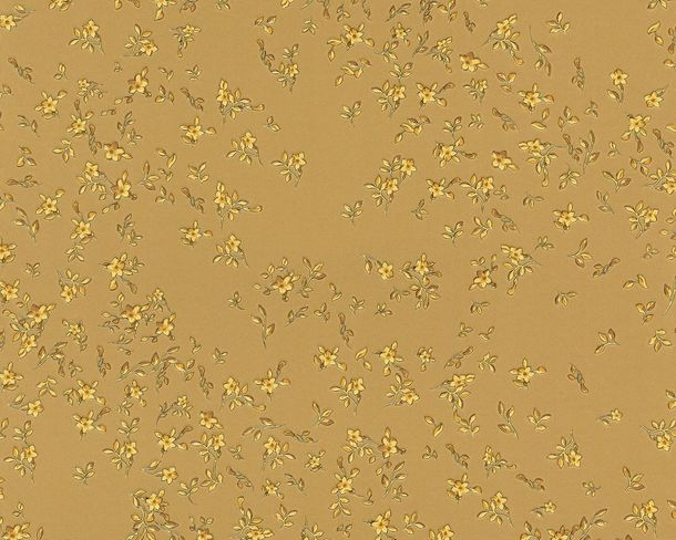 Wallpaper Versace Home blossom gold 93585-3