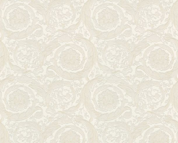Wallpaper Versace Home flower floral cream metallic 93583-2 online kaufen